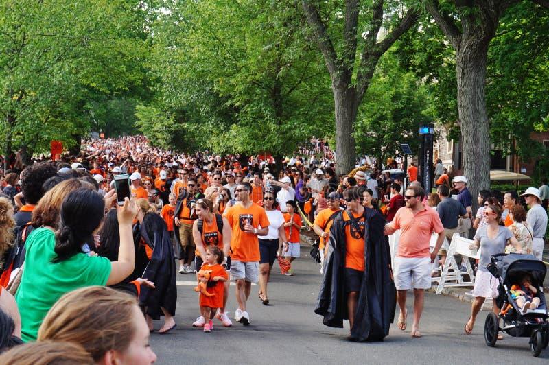 Uniwersytet Princeton 2015 P-rade obraz royalty free