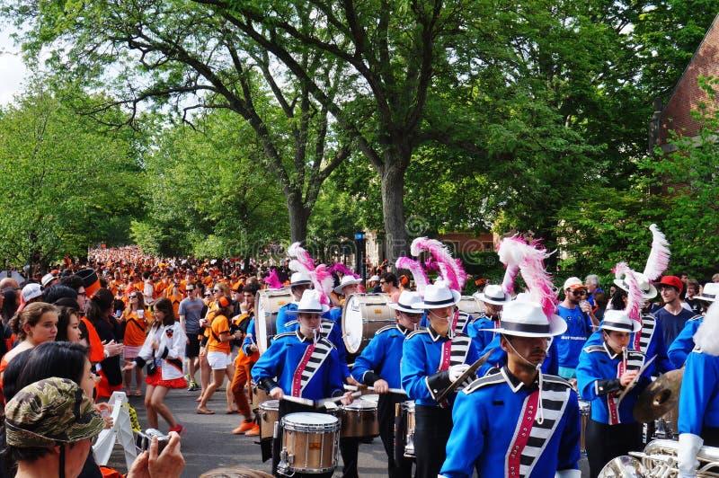 Uniwersytet Princeton 2015 P-rade zdjęcie stock