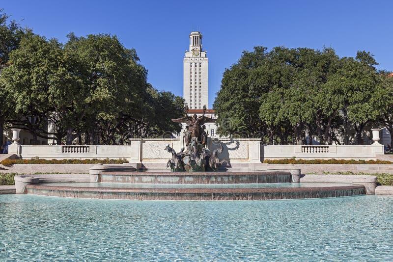 Uniwersytet Teksański przy Austin obrazy stock