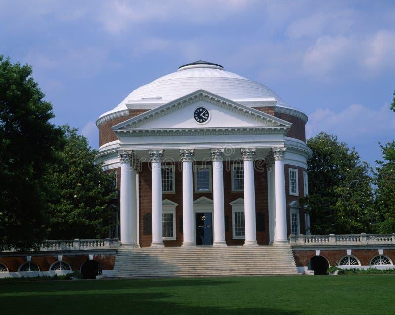 Uniwersytet Virginia, Charlottesville, Virginia royalty ilustracja