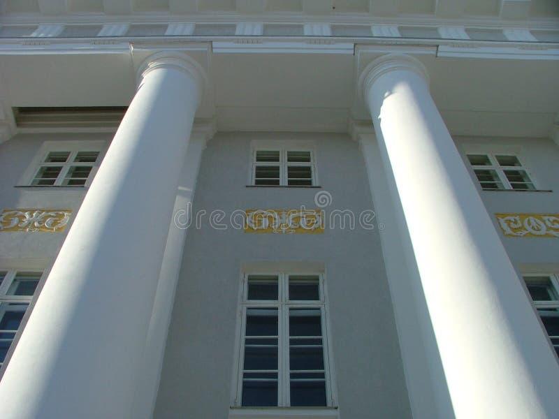 uniwersytet w budynku tartu obrazy royalty free
