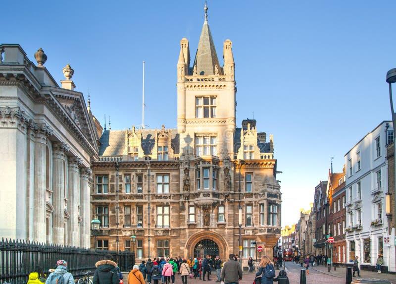 Uniwersytet w Cambridge rada zdjęcie stock