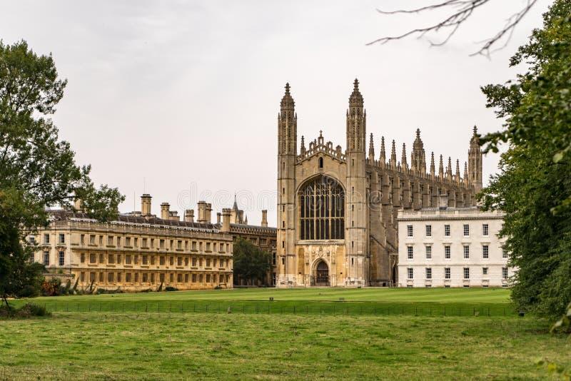 Uniwersytet w Cambridge, Cambridge, UK obraz royalty free