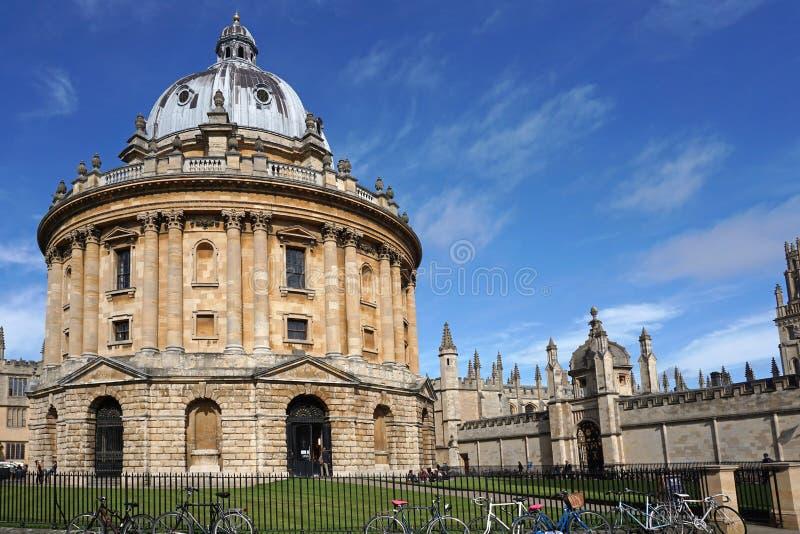 uniwersytet w oksfordzie obrazy stock