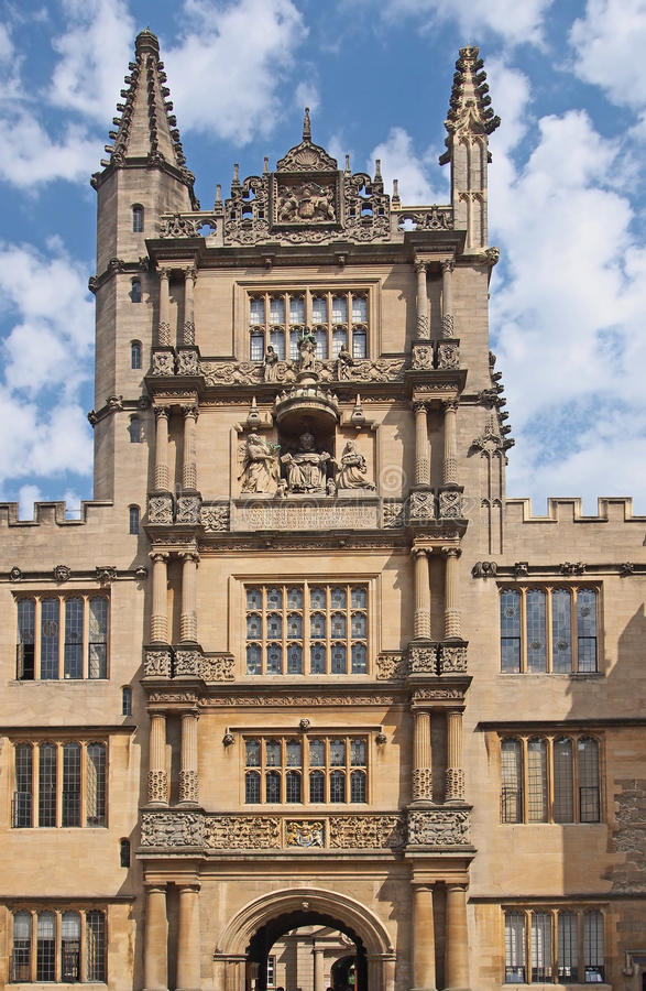 uniwersytet w oksfordzie obraz stock