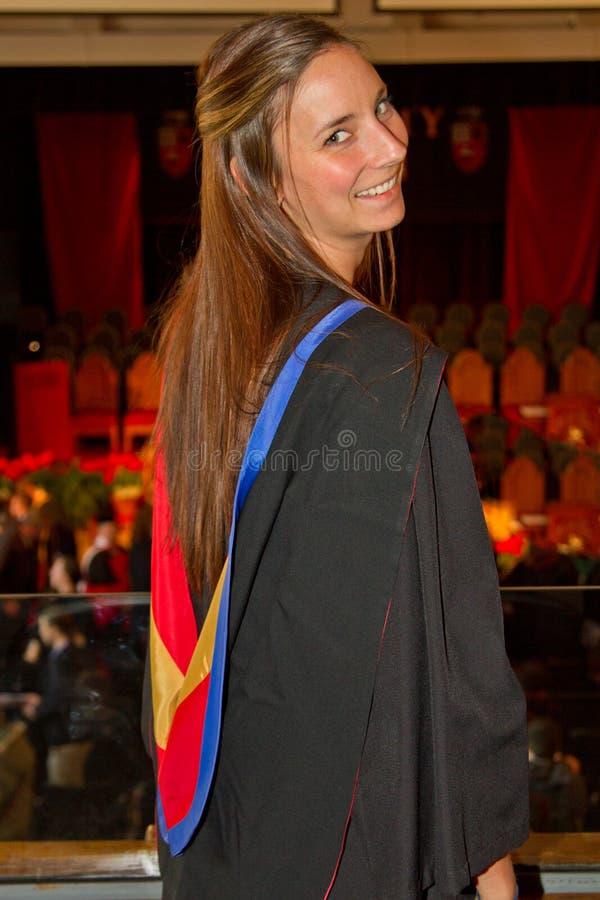 Uniwersyteta absolwent zdjęcie royalty free