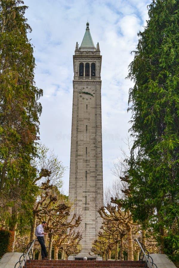 Uniwersyteta Kalifornijskiego kampus zdjęcia royalty free