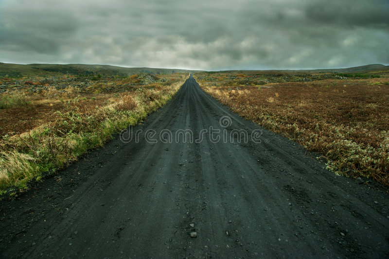 Into the unknown royalty free stock image