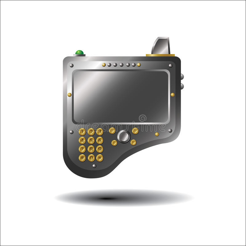 Unknown device stock photography