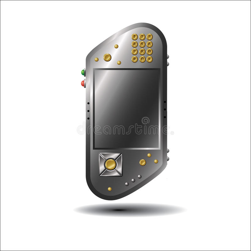 Unknown device mobile royalty free stock images