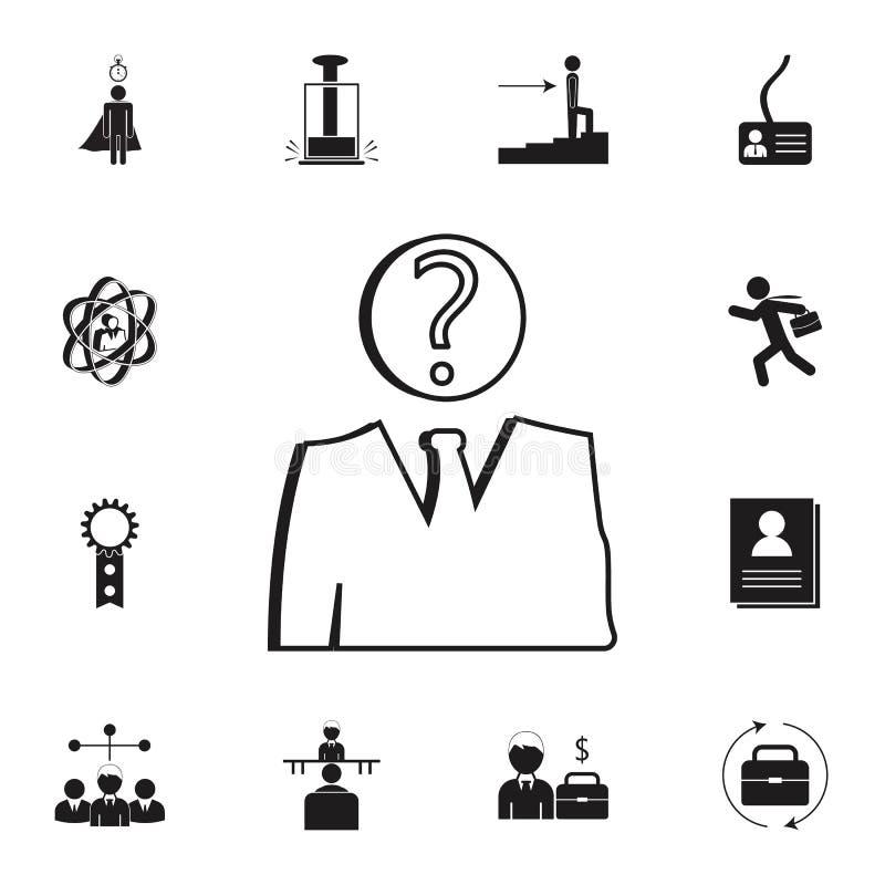 Unknown Sign Stock Illustration. Illustration Of Head