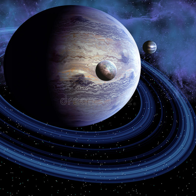 Unknown Planet vector illustration