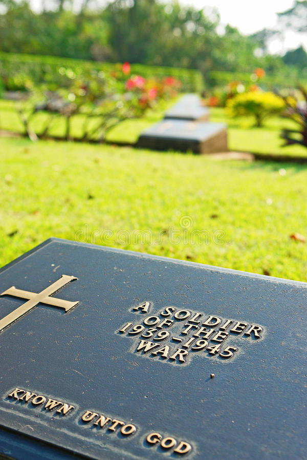 Unknown soldier royalty free stock photo