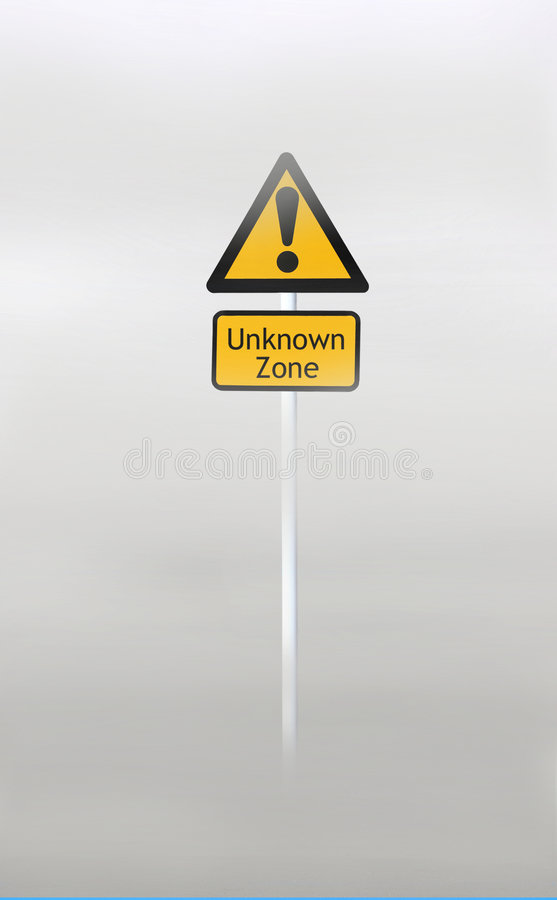 Download Unknown Zone stock image. Image of alarm, puzzling, doubt - 7798081