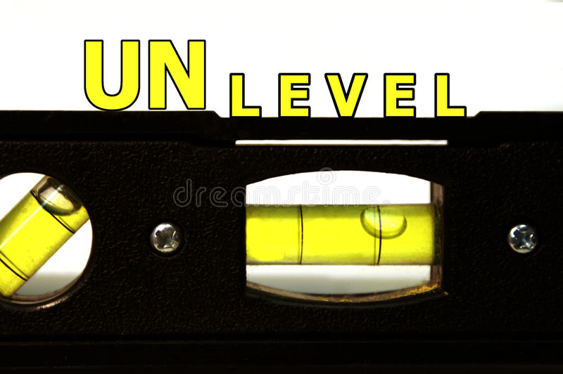 Download Unlevel Level stock photo. Image of measure, black, manual - 28488982