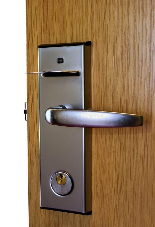Download Unlock door stock photo. Image of inserting, opening - 19503388