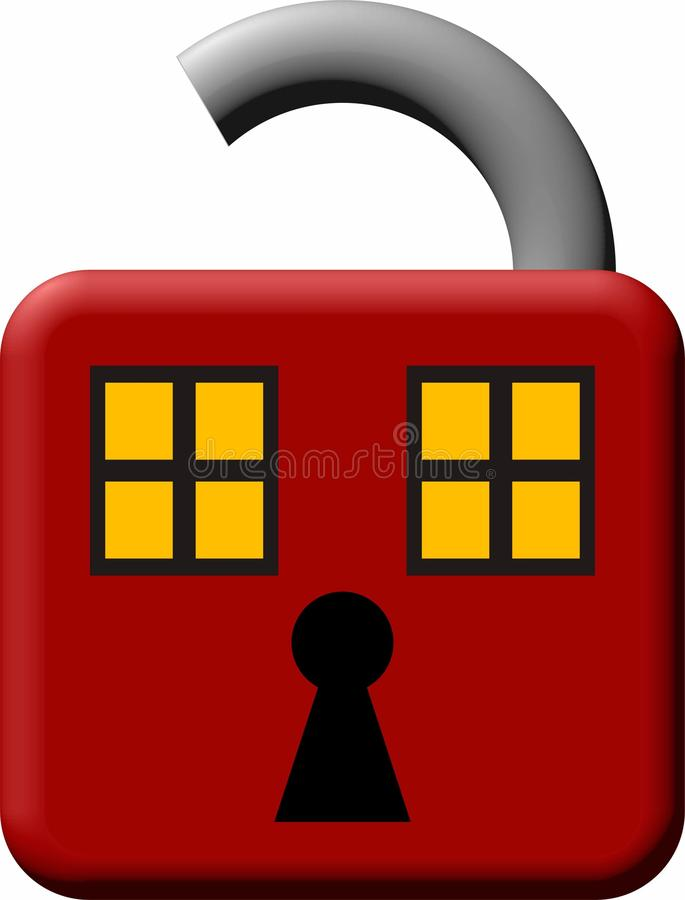 Download Unlocked House Royalty Free Stock Image - Image: 10170406
