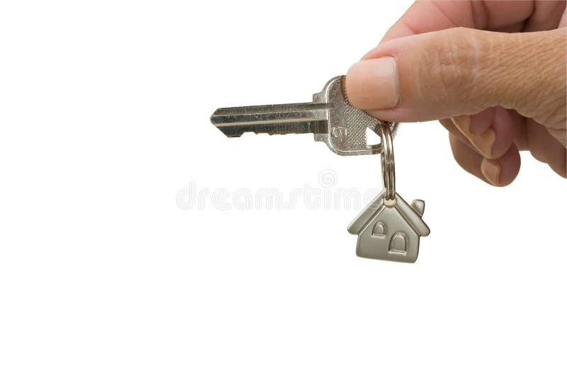 Unlocking Your Door royalty free stock image