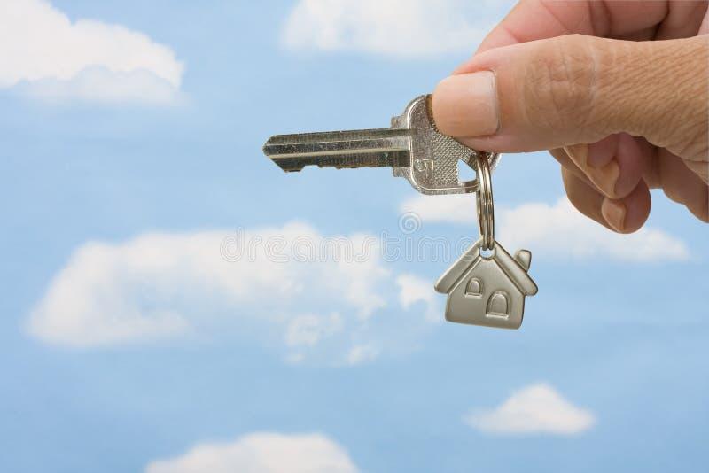 Unlocking Your Door stock images