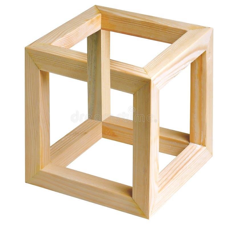 Unmöglicher Würfel. vektor abbildung