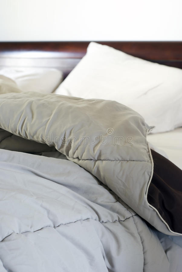 Download Unmade Bed stock image. Image of morning, sheets, wake - 13974259