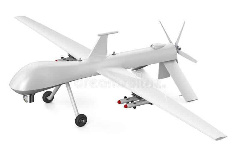 Unmanned aerial vehicle UAV vector illustration