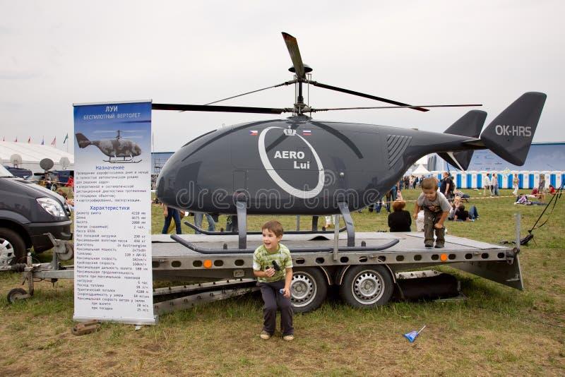 unmanned lui вертолета стоковые изображения