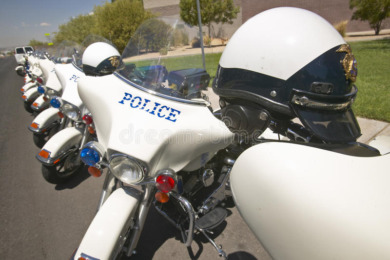 Download Unmanned Police Motorcycles Editorial Stock Photo - Image: 26274583