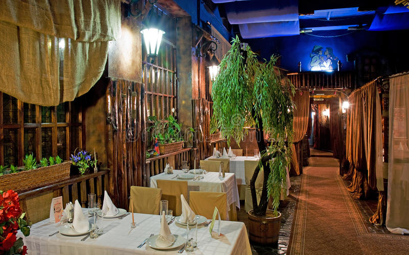 Download Unmanned Restaurant Interior Stock Photo - Image: 11705950