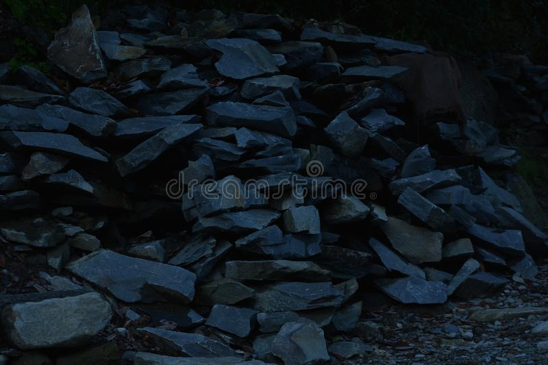 Unmatured granite, kangra - Himachal Pradesh royalty free stock photography