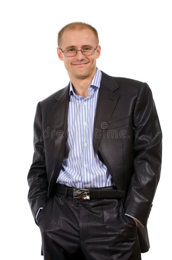 Unnecktie men stock image