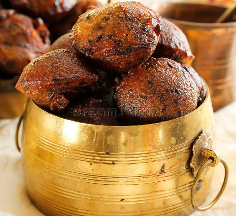 Unniyappam fried rice balls for vishu festival on Kerala royalty free stock photos