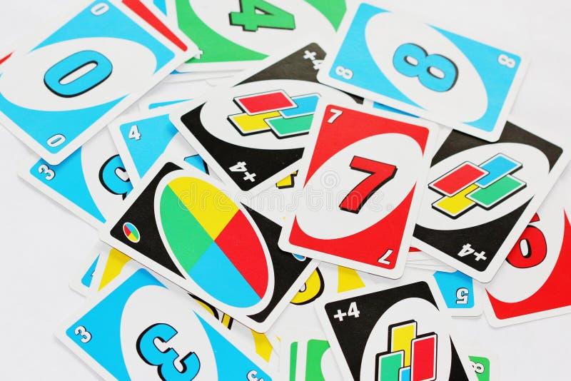 Uno stock afbeelding