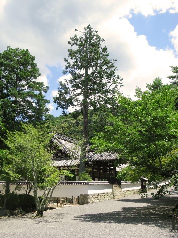 Uno de los edificios del templo de Nanzenji fotos de archivo libres de regalías