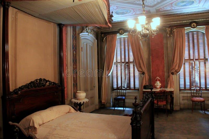 Uno de muchos cuartos con el detalle exquisito, Victoria Mansion, Portland, Maine, 2016 fotografía de archivo