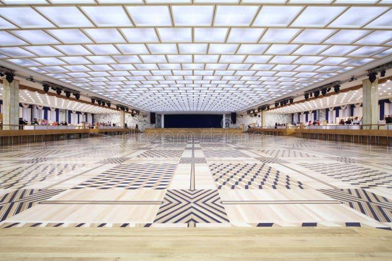 Uno de pasillos en el palacio del Kremlin fotografía de archivo libre de regalías