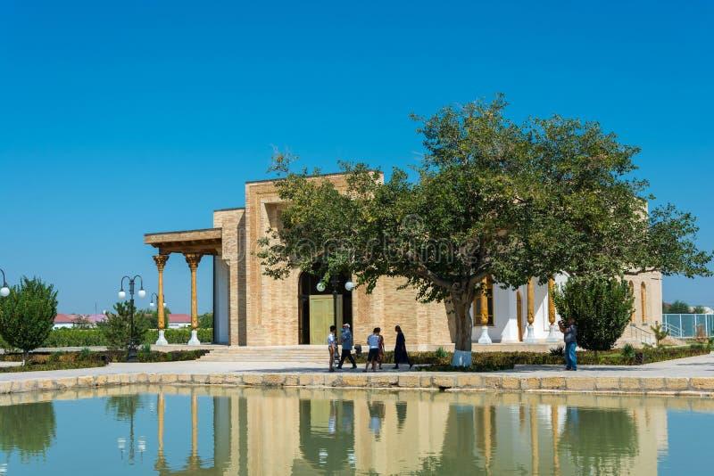 Uno degli angoli nel Bahouddin complesso commemorativo Naqshbandi, immagini stock libere da diritti