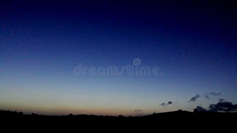 Uno dei tramonti recenti augusti del ` s fotografia stock