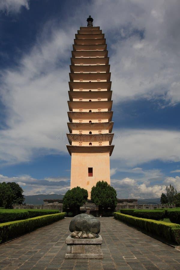 Uno dei tre Pagodas fotografie stock libere da diritti
