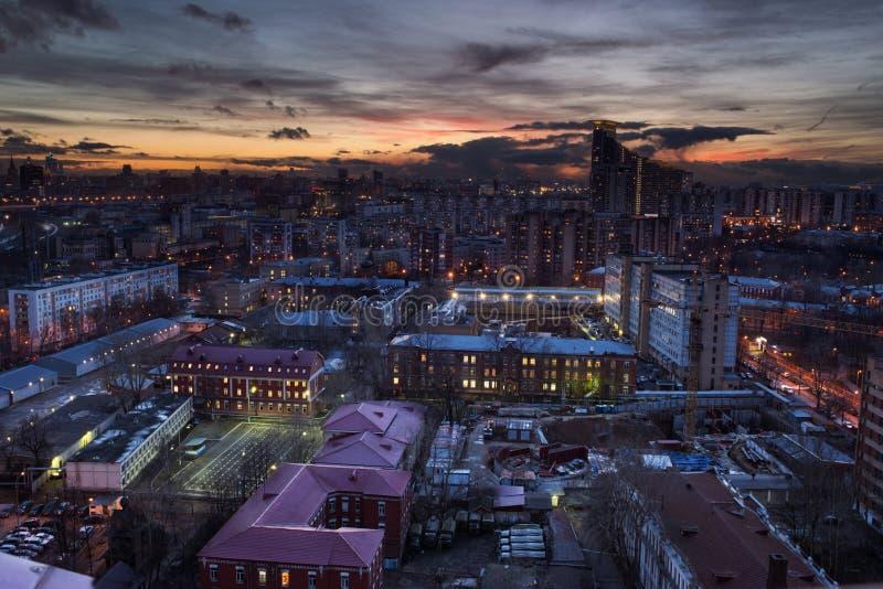 Uno del tejado de Moscú foto de archivo