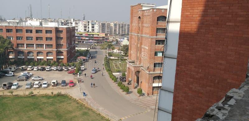 Uno di migliore istituto universitario in Lucknow fotografie stock libere da diritti
