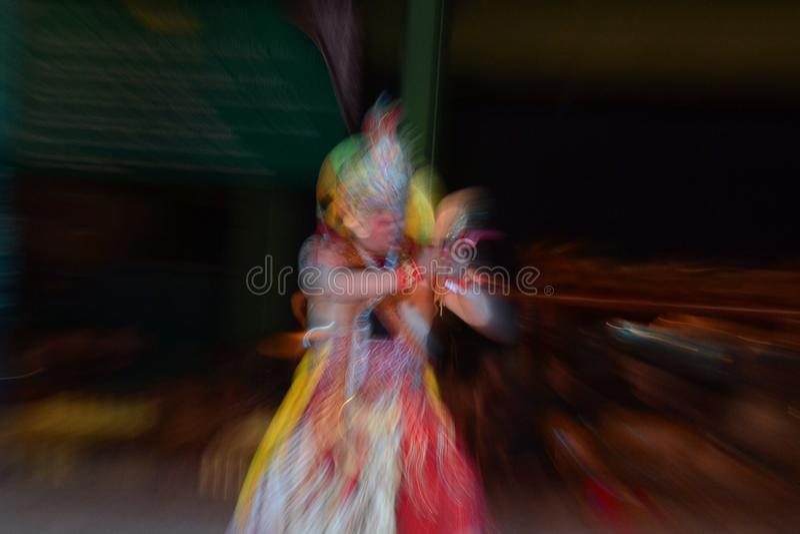 Uno di molti cultura da indonesiano immagine stock