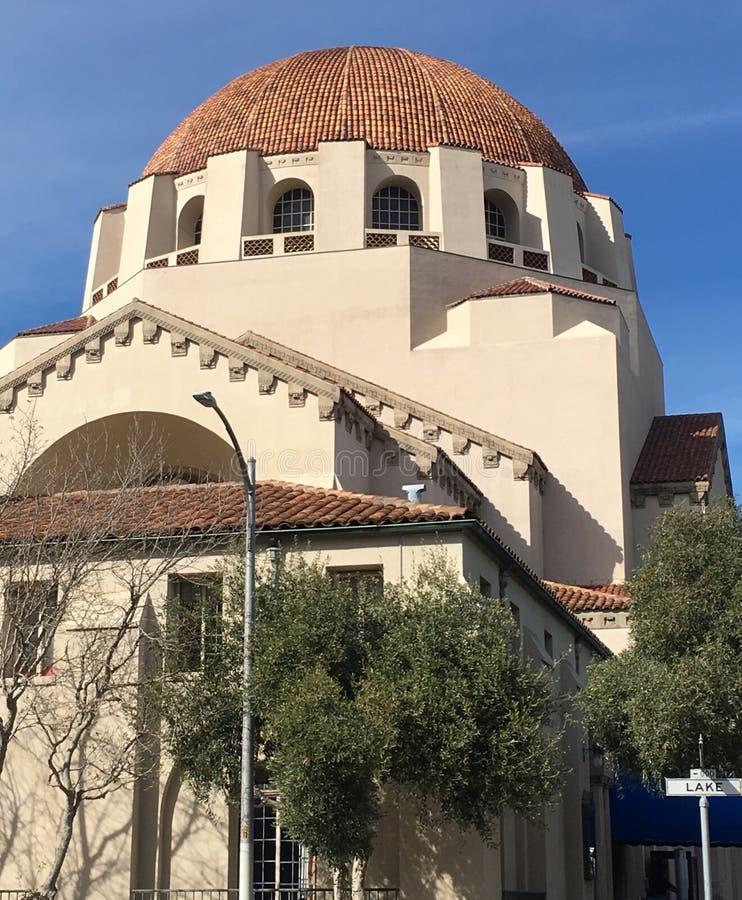 Uno di più vecchio ` s della sinagoga due in California, 6 fotografia stock