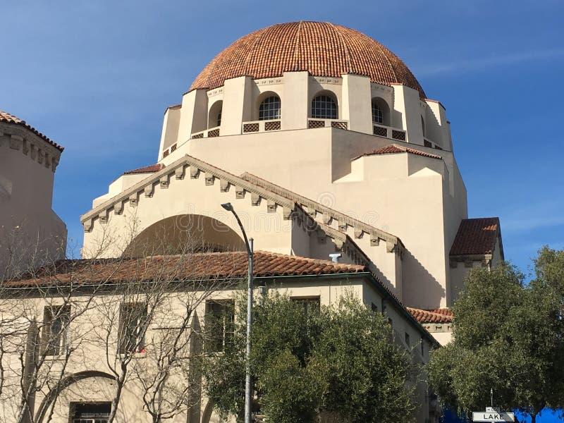 Uno di più vecchio ` s della sinagoga due in California, 5 fotografie stock