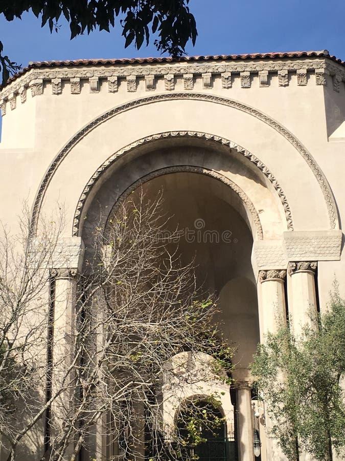 Uno di più vecchio ` s della sinagoga due in California, 4 immagine stock