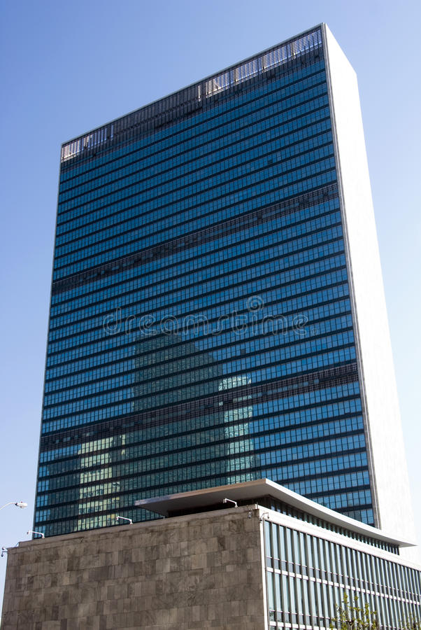 UNO-Headquarters - Manhattan, New York stockfoto