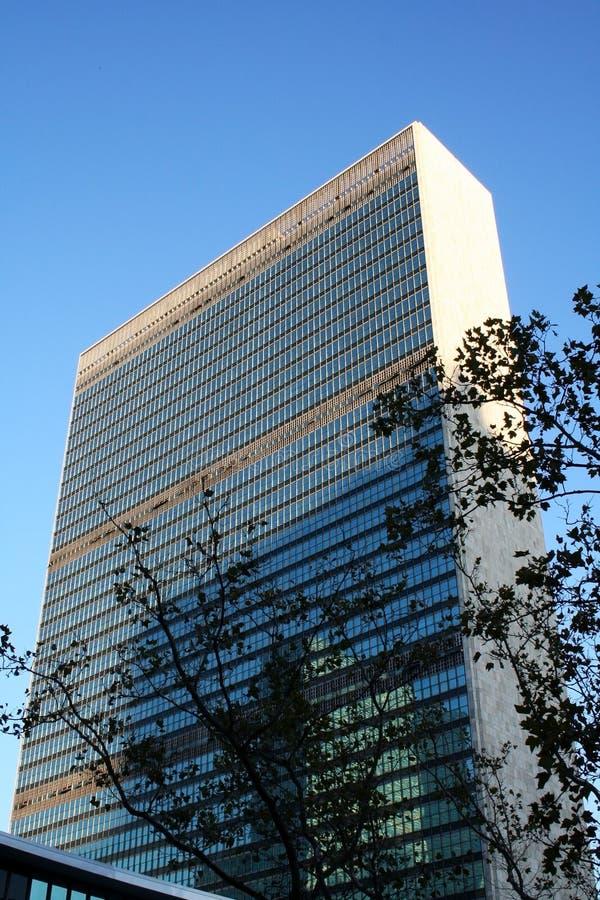 UNO-Headquarters in New York lizenzfreie stockbilder