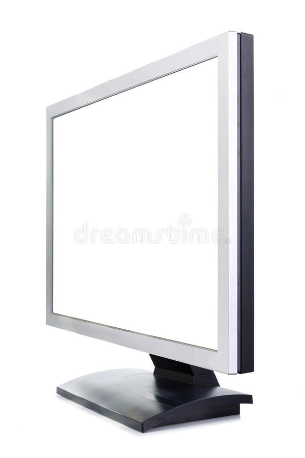 Uno schermo di computer fotografie stock libere da diritti