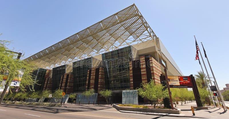 Uno sguardo al centro di convenzione di Phoenix immagine stock libera da diritti