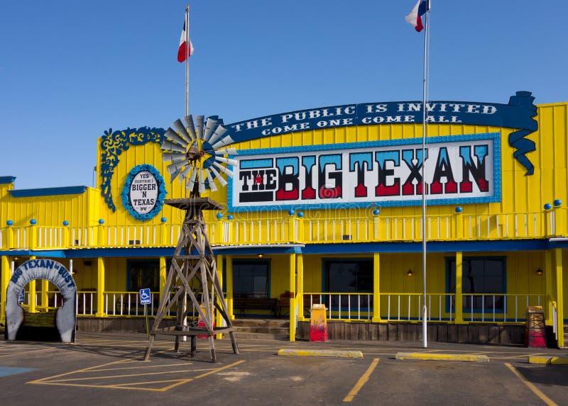 Uno steakhouse famoso nel Texas fotografie stock libere da diritti